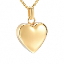 Ashanger Hart Gold Plated